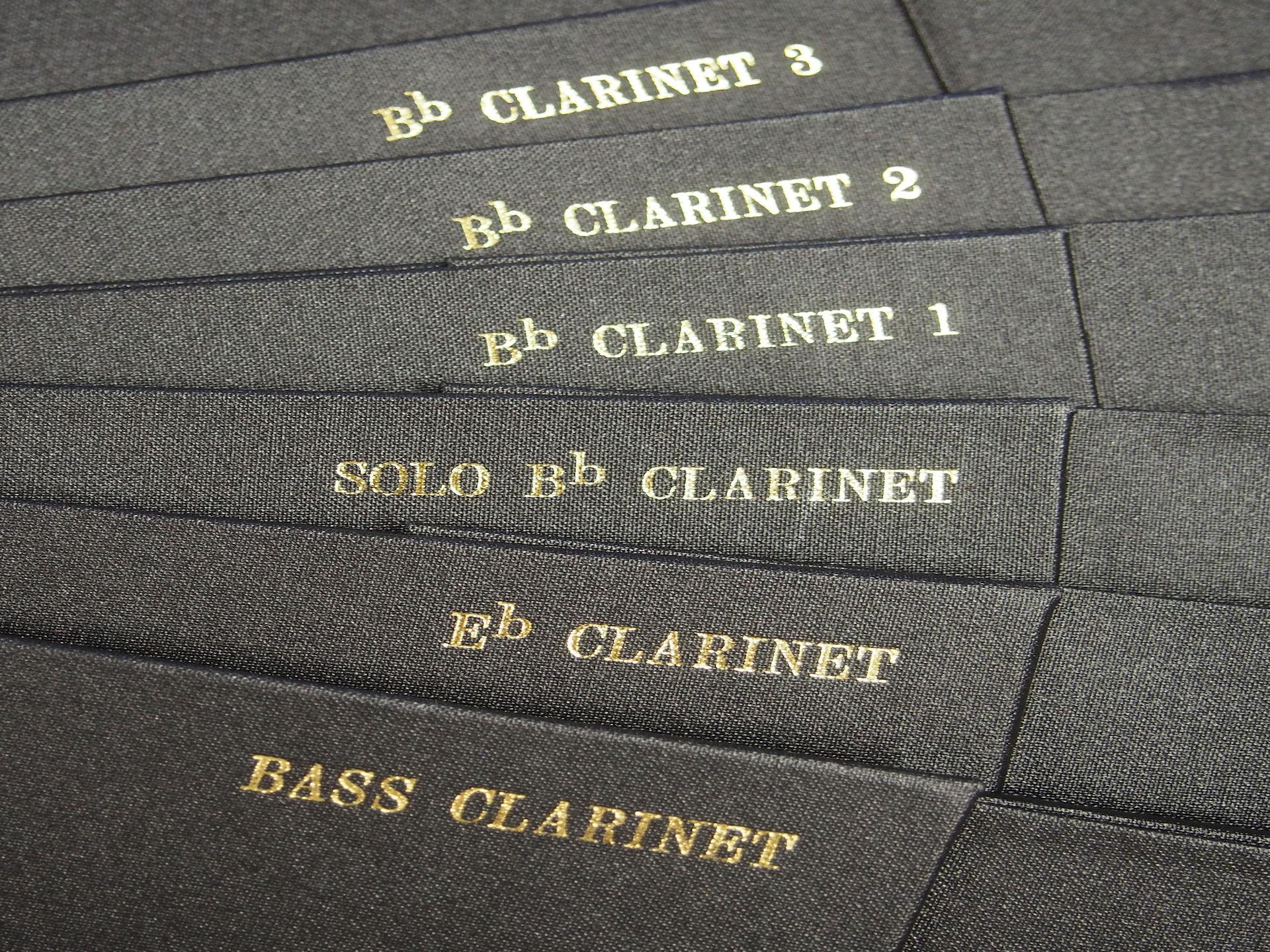 Instruments Clarinets
