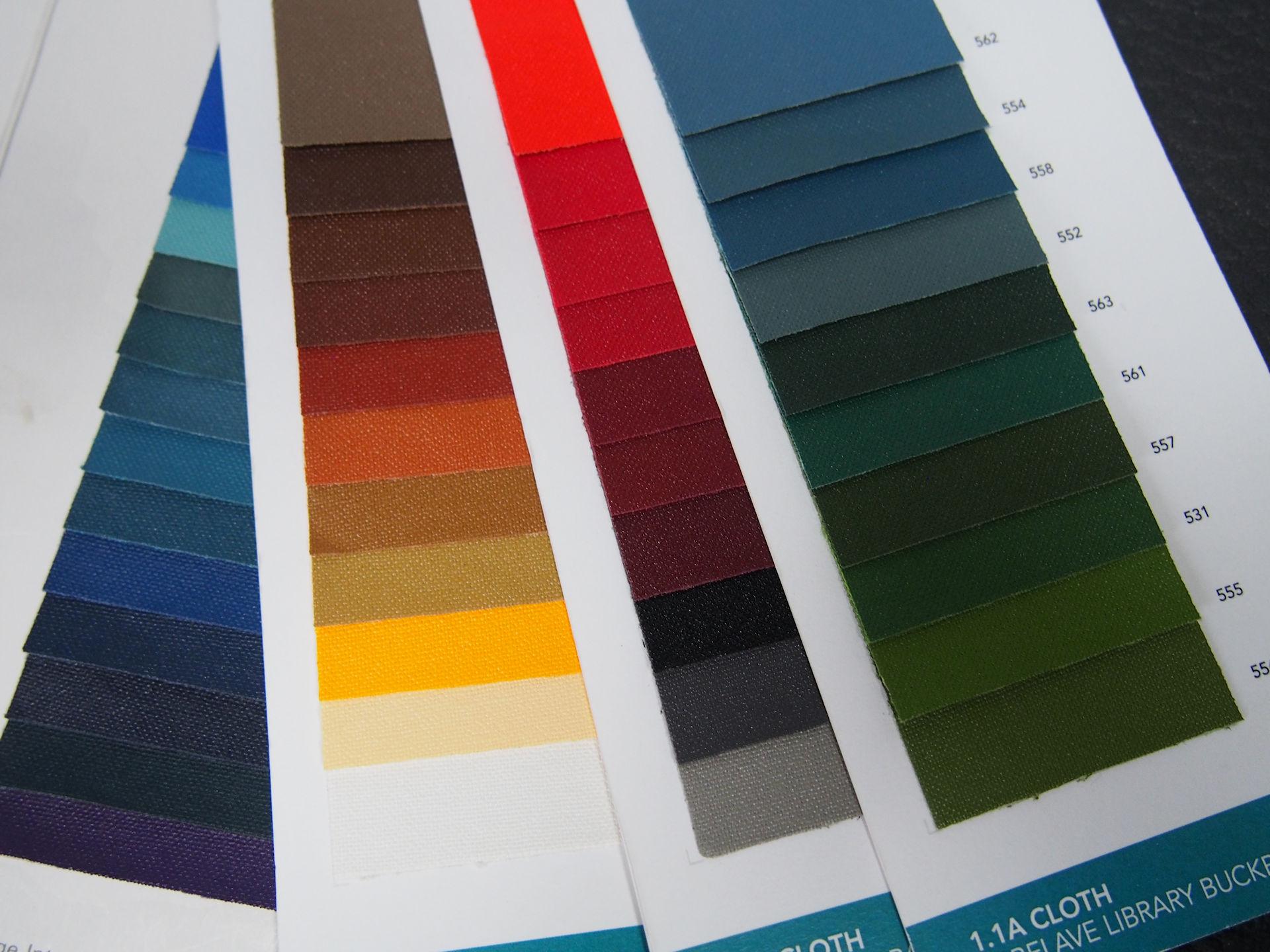 Arbelave Colour Samples