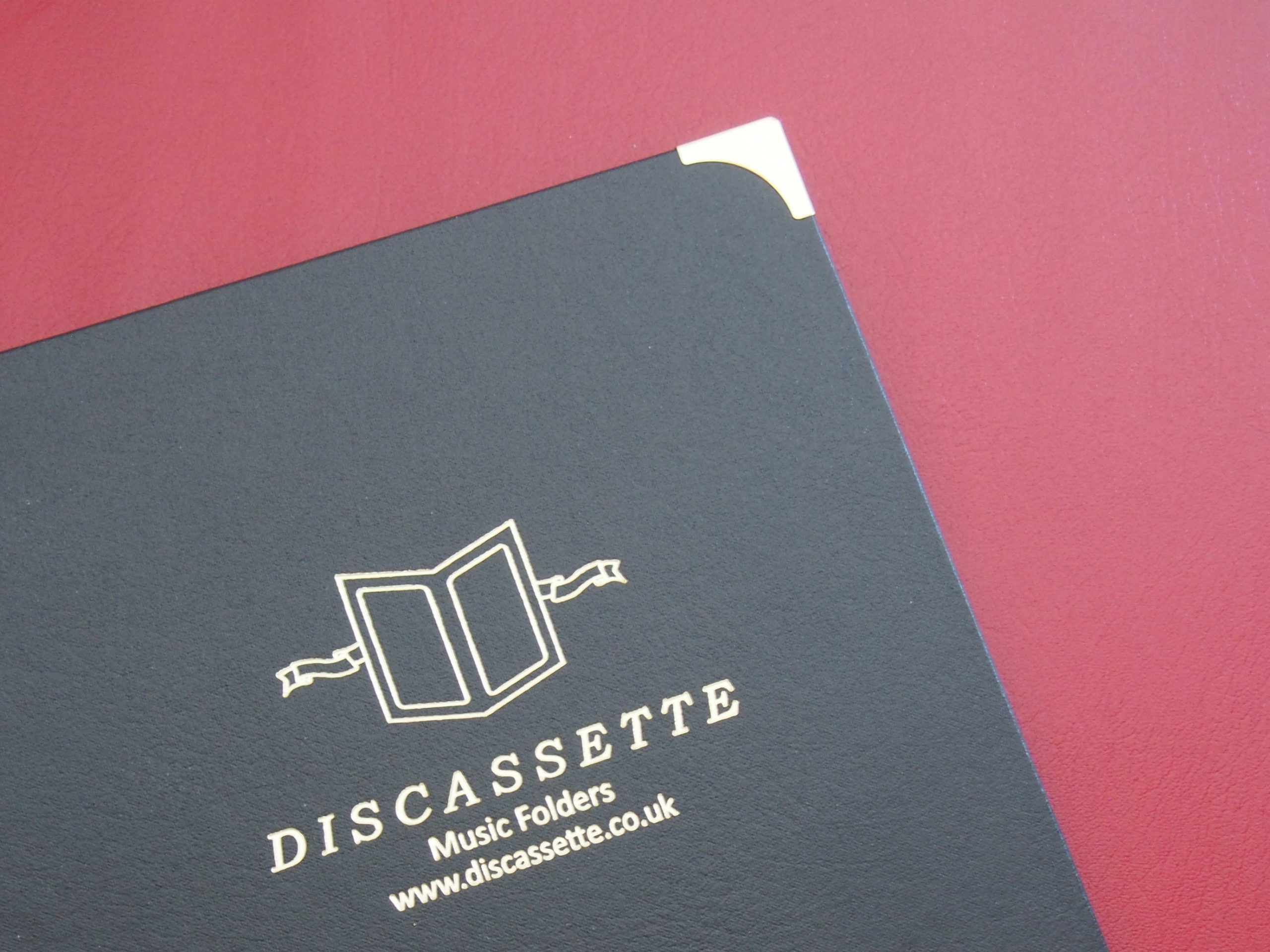 Leathercloth Music Folders