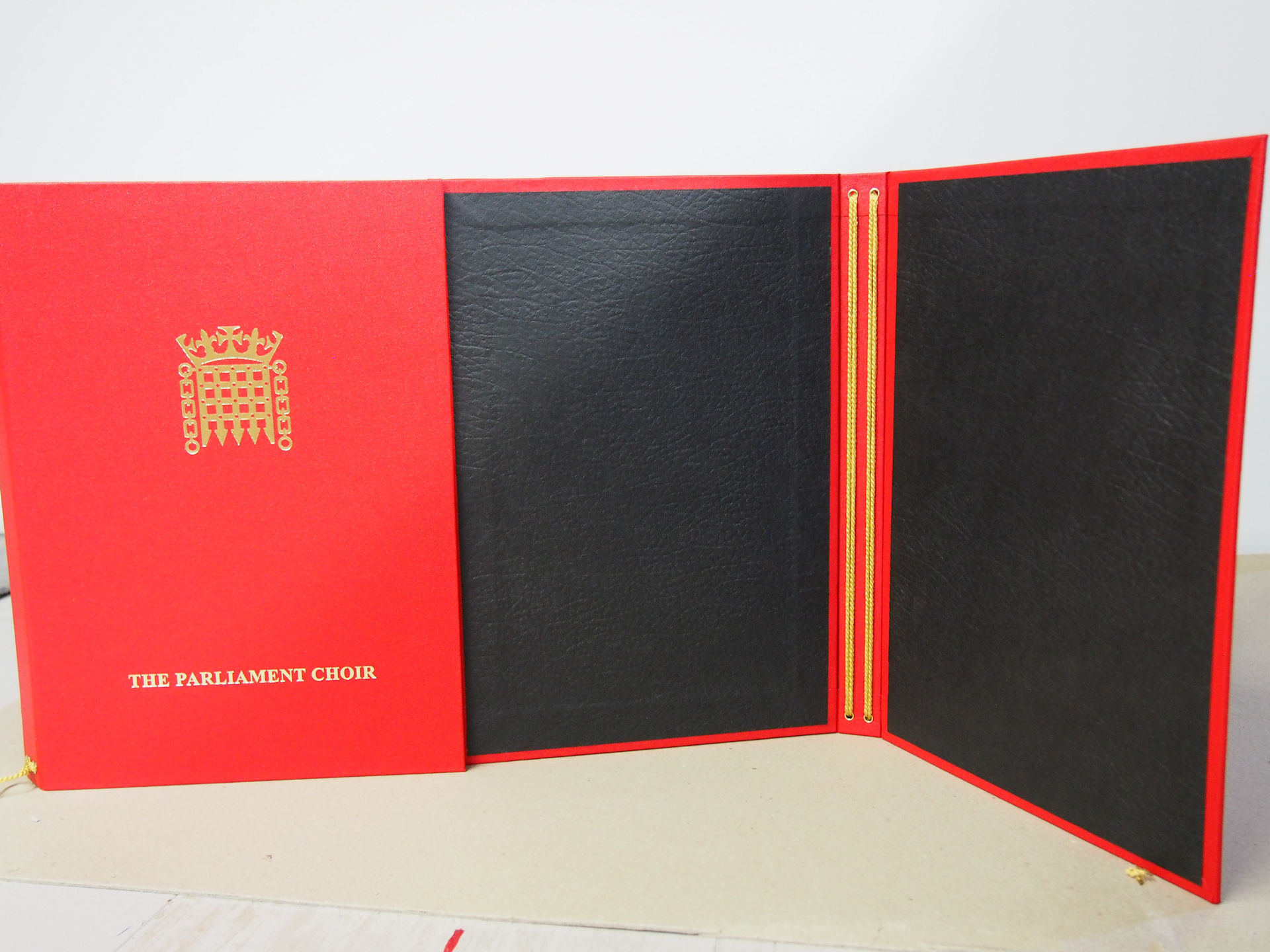 Basic Choir Folder in Red