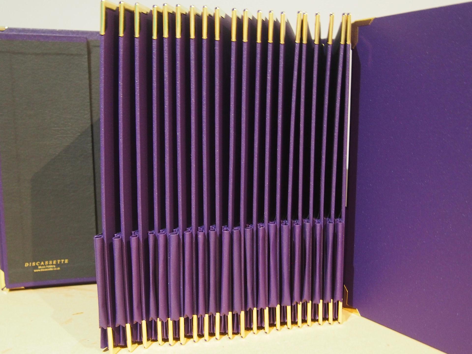 Pencil Pockets on Set of Q4 Choir Folders